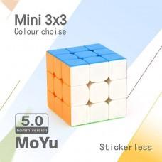 Kostka Rubika MoYu MoFang JiaoShi Mini 3x3x3 Profissional 50mm