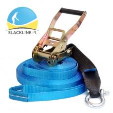 Zestaw Slackline LeviSet Blue 15 metrów