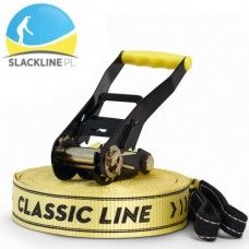 ZESTAW SLACKLINE CLASSIC LINE X13 25M